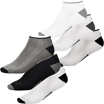 3 Pair Pack of Prince Pro Tour Mens Tennis Ankle Trainer Sport Socks - 10-14UK