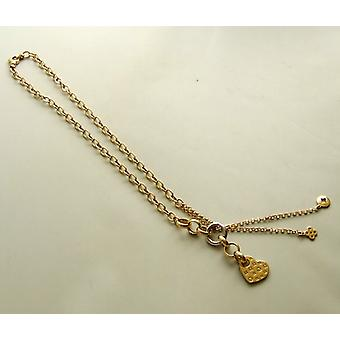 14 carat Christian gold necklace with pendant