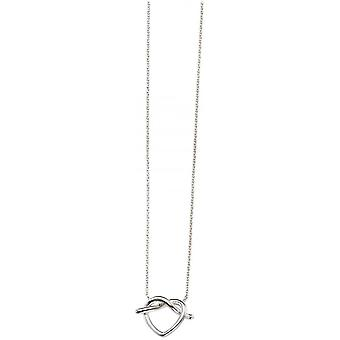 Начало кренделя ожерелье - серебро