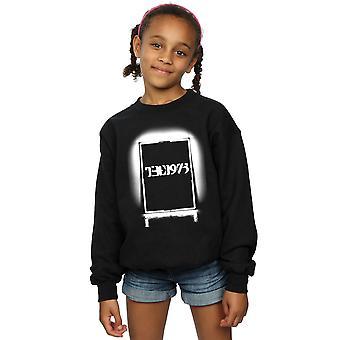 De 1975 meisjes zwarte Tour Sweatshirt