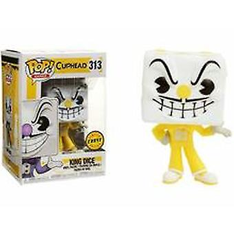 Funko Pop! Cuphead King Dice Chase Vinyl #313 + Pop Protector