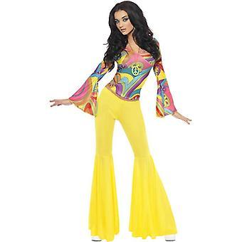Smiffy Fever 70er Jahre Groovy Babe Kostüm
