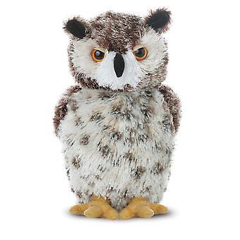 """Aurora World 8"""" Plush Mini Flopsies Owl"""