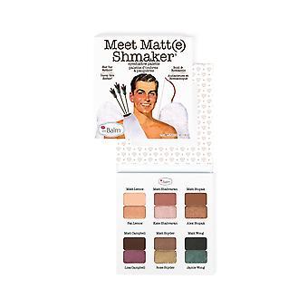 theBalm möta Matt(e) Shmaker Eyeshadow Palette