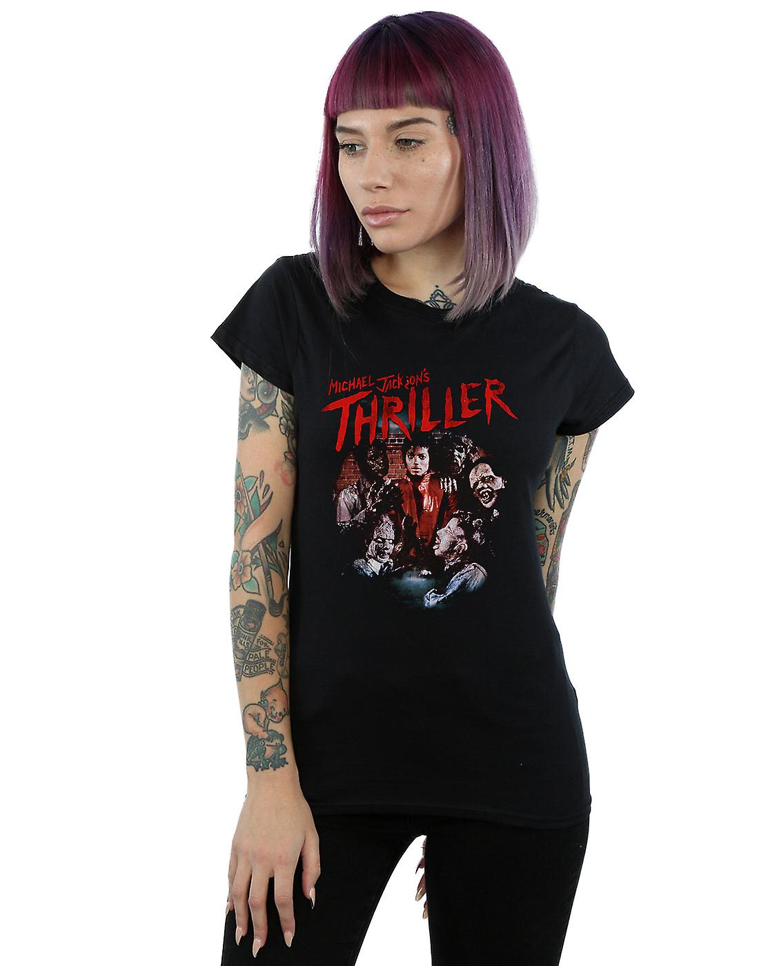 Michael Jackson Women's Thriller Ghouls T-Shirt