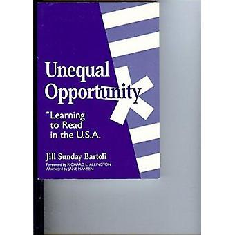 Oportunidade desigual - aprender a ler nos EUA por Jill Bartoli - 97
