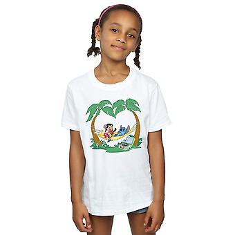 Disney Girls Lilo And Stitch Play Some Music T-Shirt