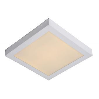 Lucide Brice-LED Modern Square Aluminium weiß bündig Deckenleuchte