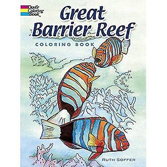 Grande barrière de corail Coloring Book (livre de coloriage Nature de Douvres)