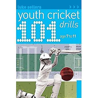 101 ungdom Cricket borrar ålder 7-11