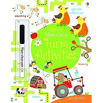 Wipe-Clean Farm Activities (Usborne Wipe Clean Books)