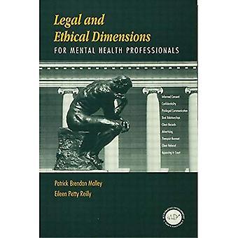Legale og etiske dimensjonene for psykisk helsepersonell