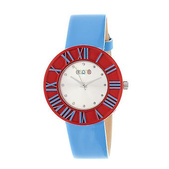 Crayo Prestige Unisex Watch - Cerulean/punainen