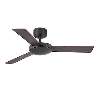 Faro - Mini Mallorca Small Dark Brown Ceiling Fan Without Light FARO33605