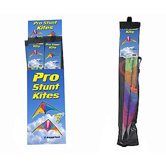 Pro Stunt 120cm X 60cm Stunt Kite (One supplied)