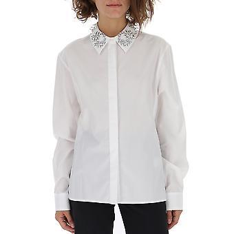 Paco Rabanne 18hcce006co0006104 Damen's weißes Baumwollhemd