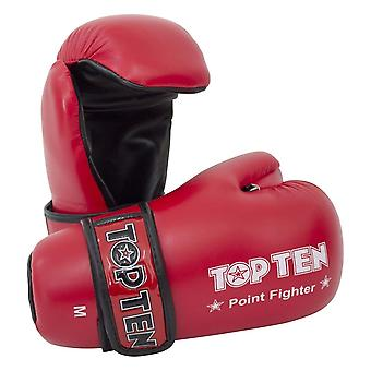 Top 10 Pointfighter guantes rojo