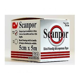 Scanpor Microporous Adh Tape 5M 5Cm