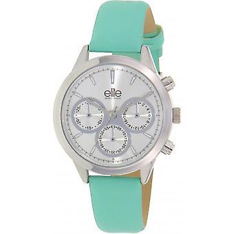 Elite E54822-208 - watch leather green woman