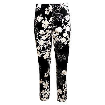 ROBELL Trouser 51692 54747 90 Black And White
