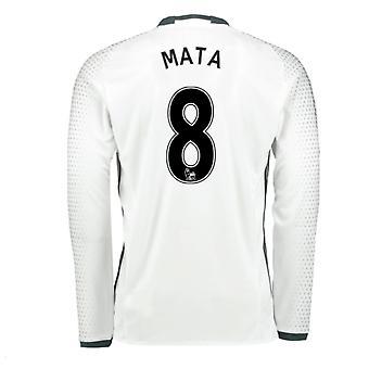 2016-17 man United tredje skjorte (Mata 8) - barn