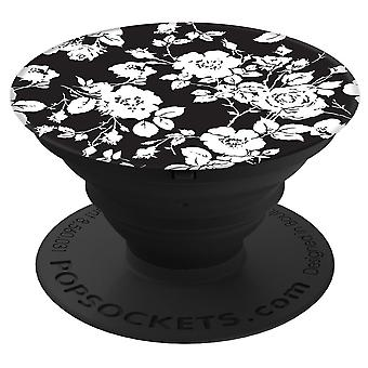 PopSockets sort/hvid Rose