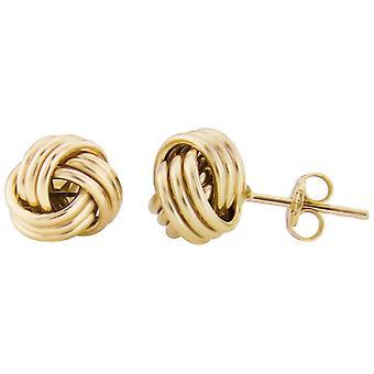 Mark Milton Knot stud örhängen-gult guld