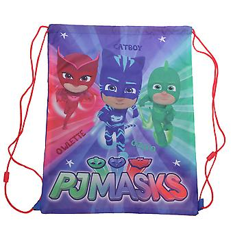 PJ Masks Childrens/Kids Here To Help Drawstring Bag