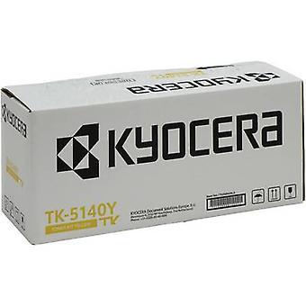 Kyocera Toner cartuccia TK-5140Y 1T02NRANL0 originale giallo 5000 pagine