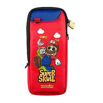 Super mario: day of the dead portable protective bag (nintendo switch)