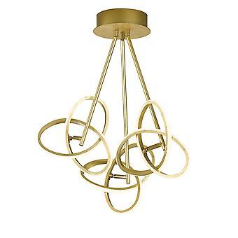 Wofi Ceiling Light Eliot Golden