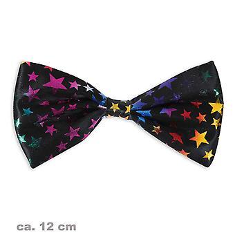 Bøje Butterfly tilbehør sort farverige stjerne 11cm klovn