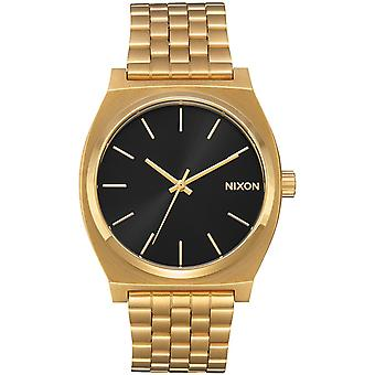 Nixon Time Teller Quartz Analog Man Watch with A0452042 Stainless Steel Bracelet