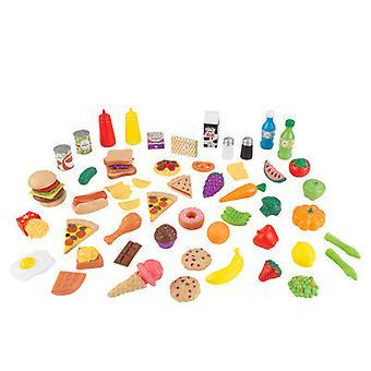 Køkkenredskaber KidKraft 65-pc spil mad sæt