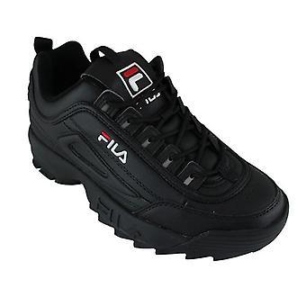 Chaussons de la ligne du sport classent Disruptor Low Black/black 0000088243_0