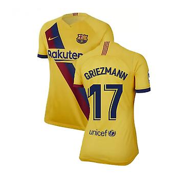 2019-2020 Barcelona Away Nike Ladies Shirt (Griezmann 17)