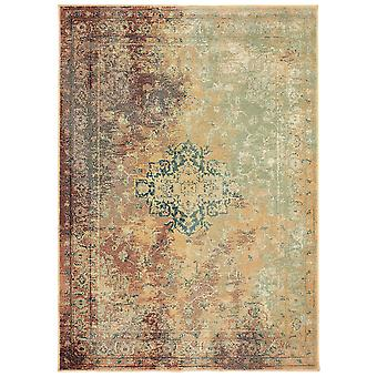 Dawson 8324a rust/ gold indoor area rug rectangle 6'7