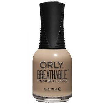 Orly BREATHABLE Treatment + Color - Bare Necessity (20985) 18ml
