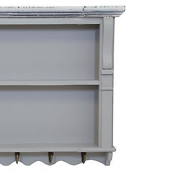 Charles Bentley Gris Shabby Chic cocina pared pantalla de la unidad Dresser Top