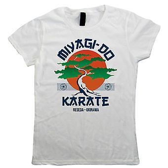Miyagi Do Karate Kid Movie Inspirado, Camiseta Feminina - Artes Marciais Presente sua mãe