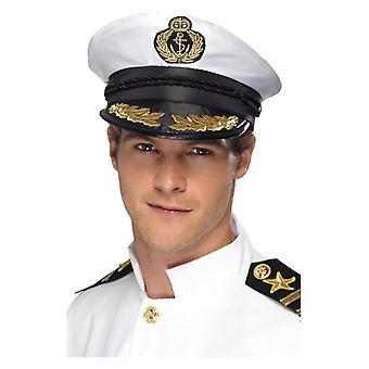 Herren Captain Cap Fancy Kleid Zubehör