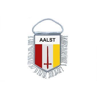 Flag Mini Flag Country Car Decoration Souvenir Blason Alost Belgium