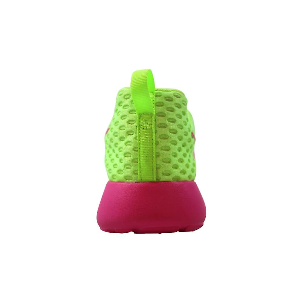 Nike Roshe One Flight Weight Ghost Green/pink Blast 705486-300 Grade-school