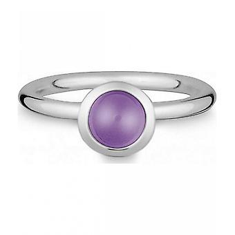 Quinn-zilveren ring met amethist-021832633