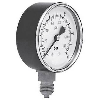 ICH Manometer 301.63.16 Connector (pressure gauge): Bottom 0 up to 16 bar External thread 1/4 1 pc(s)