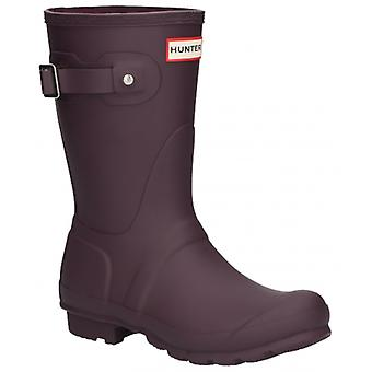 Hunter Original Tall Ladies Rubber Wellington Boots Bright Grape