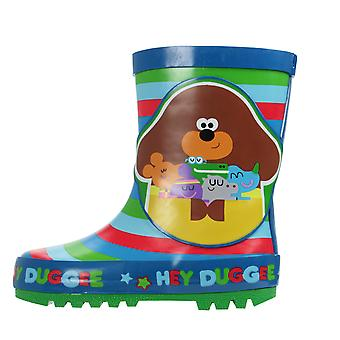 Hey Duggee Boys Tofua Slip On Wellington Boots UK Sizes Child 5-10