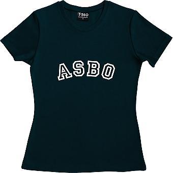 ASBO Navy Blue Women's T-Shirt