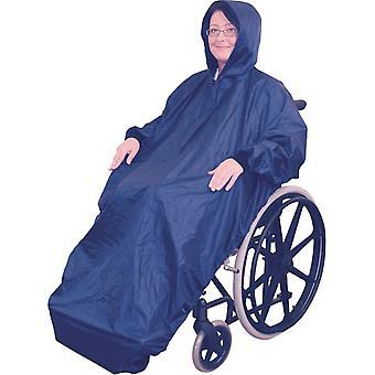 Aidapt regenjas rolstoel - fleecevoering Extra dikke fleecelaag winterklaar