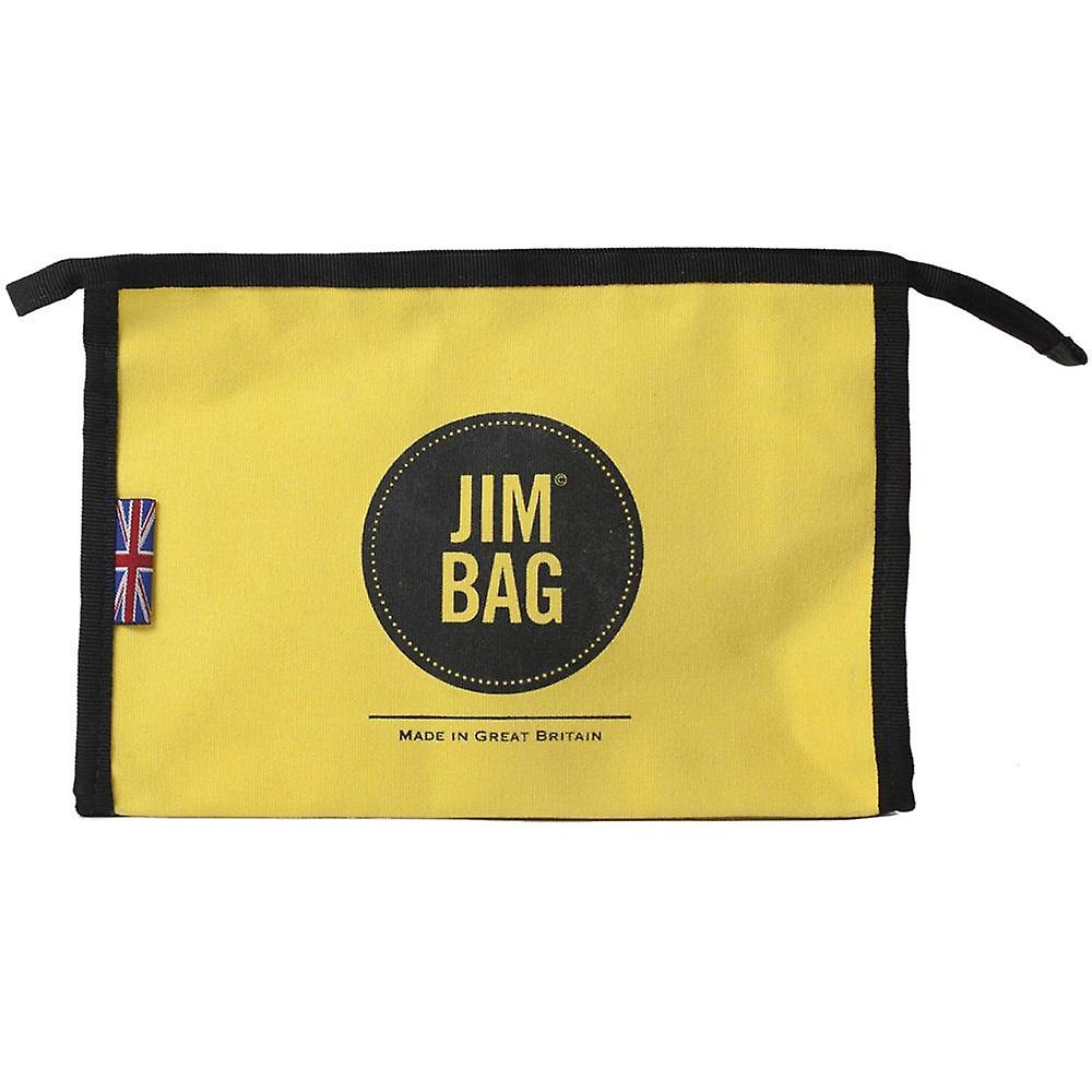 JIMBAG Yellow Travel Sports Wash Bag